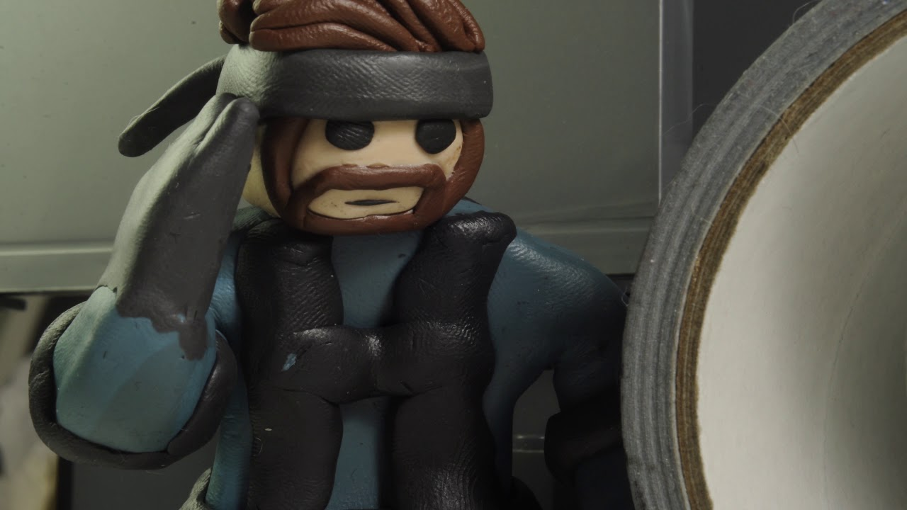Solid Snake Is Dummy Thicc Claymation