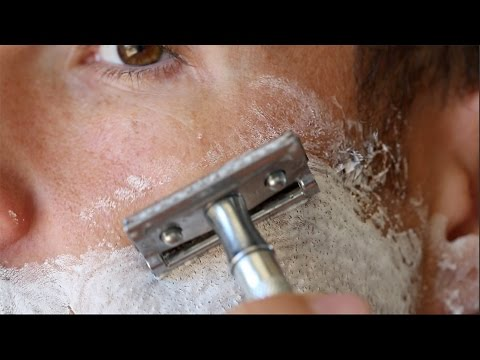 how to get a close shave with a safety razor