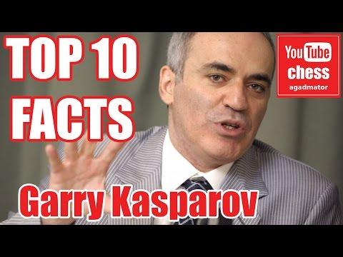 Top 10 facts about Garry Kasparov