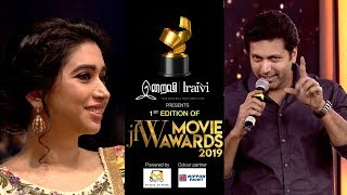 Jayam Ravi on his wife Directing him at JFW Movie Awards 2019