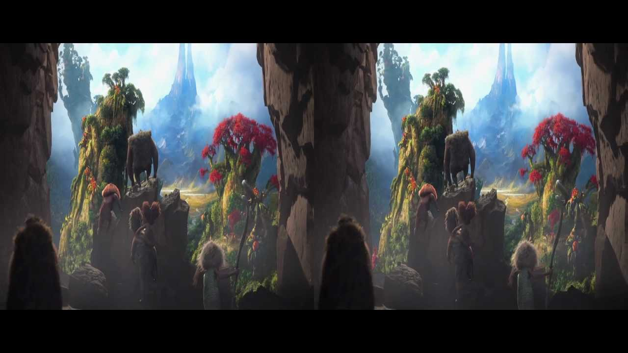 THE CROODS - Teaser Trailer in 3D