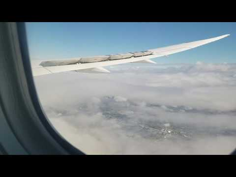Ethiopian Airlines 787 landing in Los Angeles
