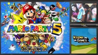 Mario Party 5 - Gamecube - Gameplay em Português PT-BR