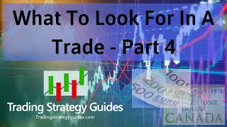 What To Look For In A Trade   Part 4 + EURCAD Forex Trade Setup & DISH