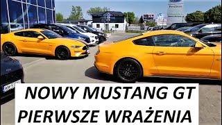2018 Nowy FORD MUSTANG GT  live! Pierwsze Wrażenia