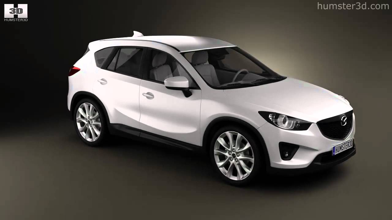 Mazda Cx 5 2012 By 3d Model Store Humster3d Com Youtube