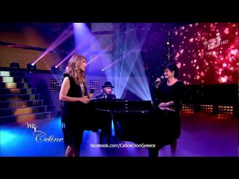 Céline Dion & Maurane - Quand on n'a que l'amour (LIVE NRJ12 Christmas Special 20/12/12) HD