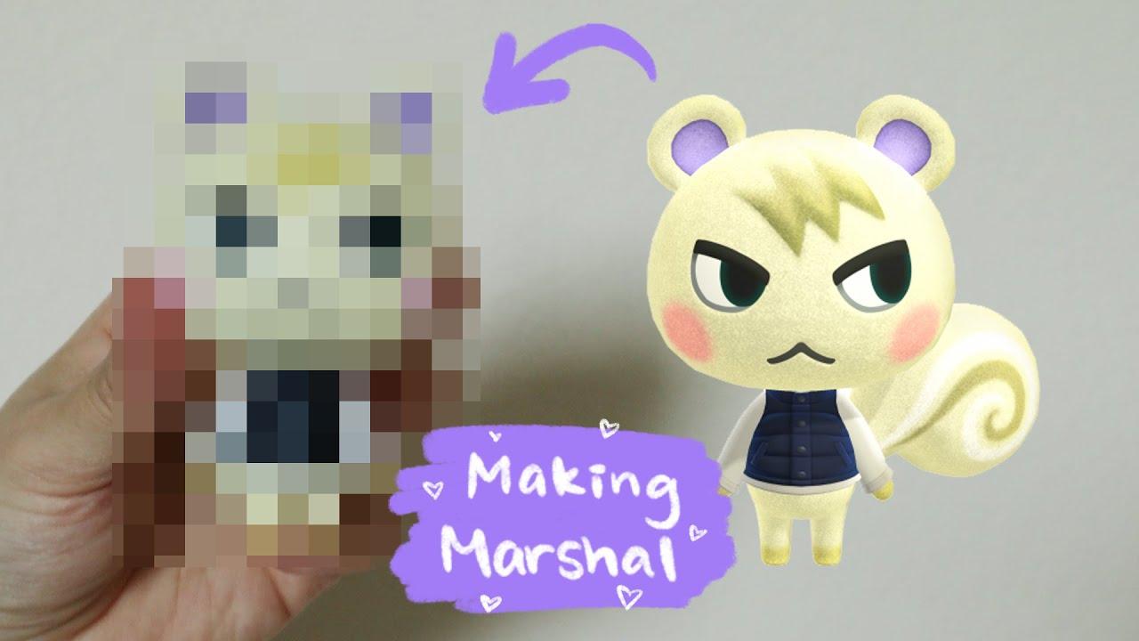 Animal Crossing: Marshal | Polymer Clay Figurine | Tools I use + Q&A