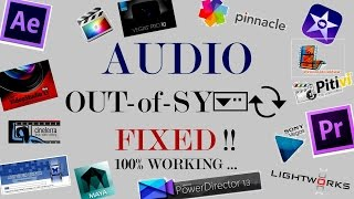 How to Quick Fix Any Audio Video Out of Sync issues Post Editing Synchronize Audio Video Easily