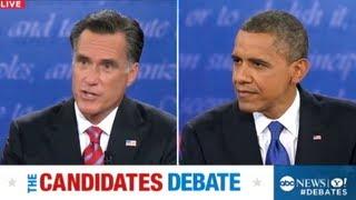 Gambar cover Final Presidential Debate 2012 Mitt Romney on Libya