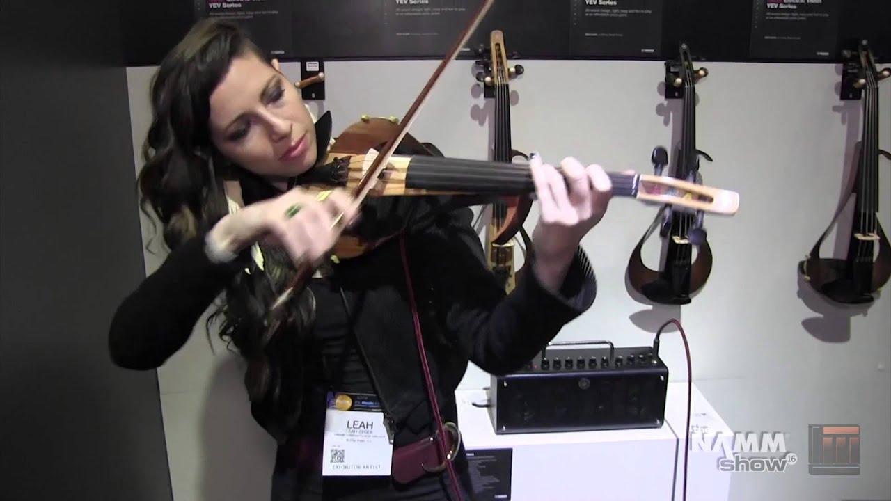 Long Mcquade Namm 2016 Yamaha Yev104 Electric Violin Youtube