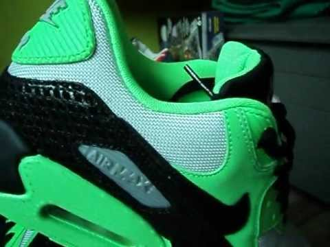 low priced 258ee a93dc Nike Air Max 90 Premium - 2013 (Collection)(Part 31)(TREE SNAKE  PACK)(Poison Green Black Ntrl Grey)