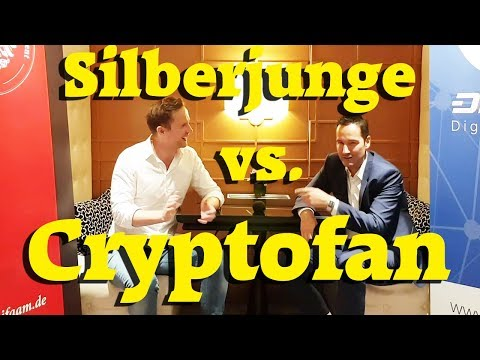 Silberjunge vs. Cryptofan: Ist Bitcoin eine Blase?