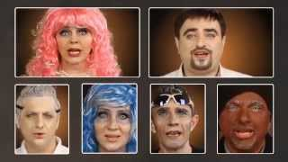 [not Official Video]  Pentatonix ( Daft Punk ) RUSSIAN Parody! good as original