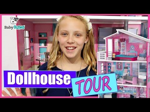 Dollhouse House Tour | Kidkraft Breanna Doll House for 18