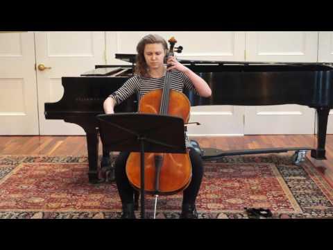 Aaron Minsky: October Waltz from Ten American Cello Etudes