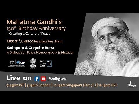 Sadhguru & Gregoire Borst – A Dialogue on Peace, Neuroplasticity & Education