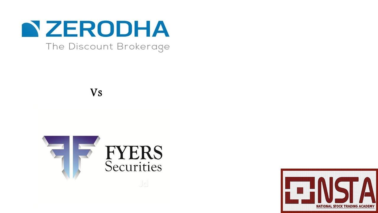 Zerodha vs Fyers, TradingView Charts comparison