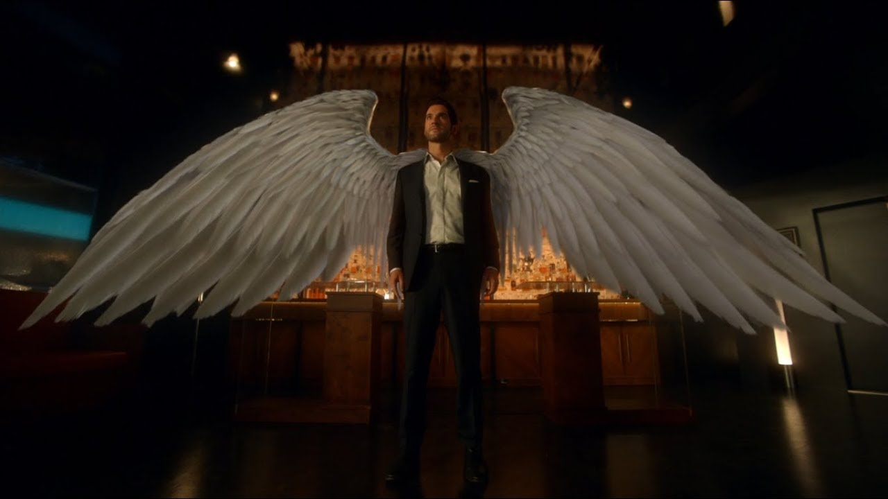 Download Lucifer Reveal His Wings to Amanadiel (S03E01)