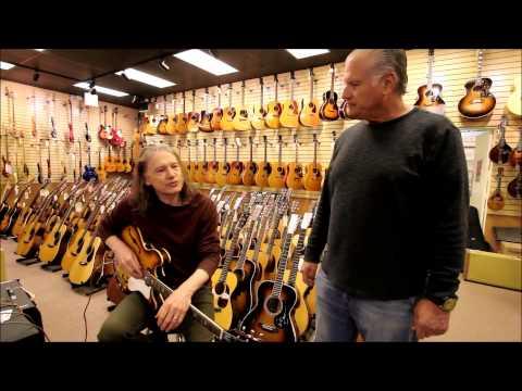 Robben Ford at Norman's Rare Guitars