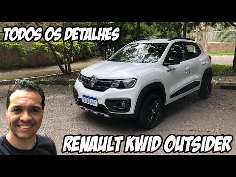 Teste do RENAULT KWID OUTSIDER. Por R$ 44 mil, ele é melhor que o Fiat Mobi Way?
