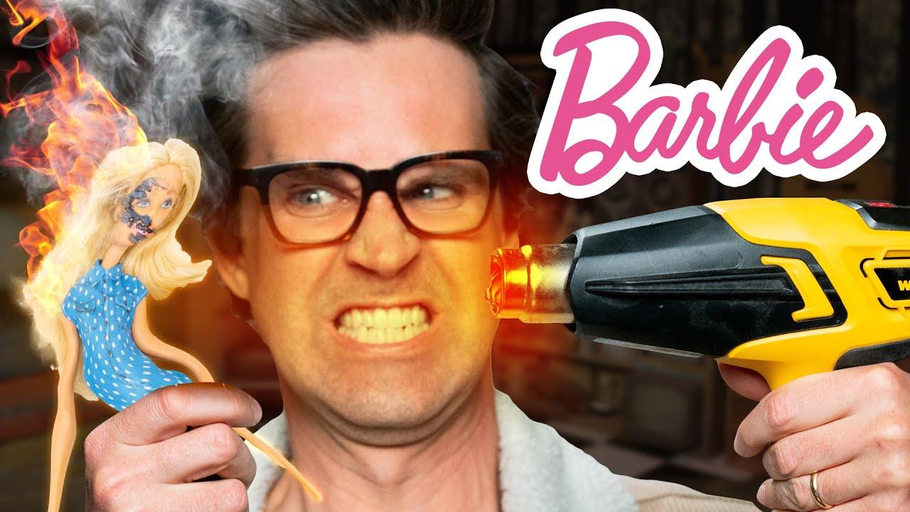 We Destroy Barbie In Increasingly Horrifying Ways
