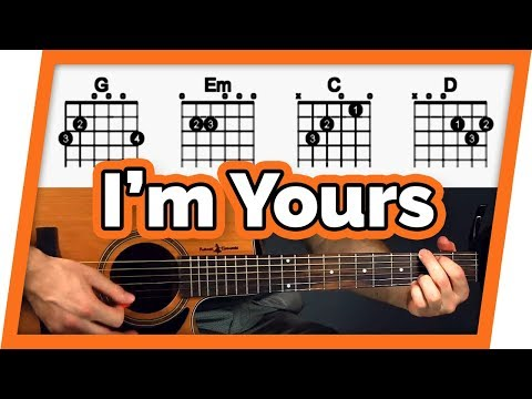 I'm Yours - Guitar Tutorial (Lesson) - Easy Chords For Beginners