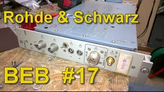 Rohde & Schwarz NU002 Broadcast Audio FM Radio Coder Modulator Teardown, BEB #17