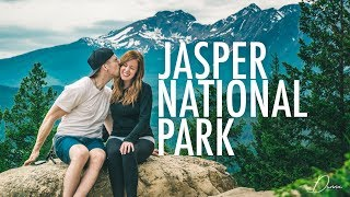 AMAZING MALIGNE CANYON HIKE Jasper National Park  DunnaVlog 20