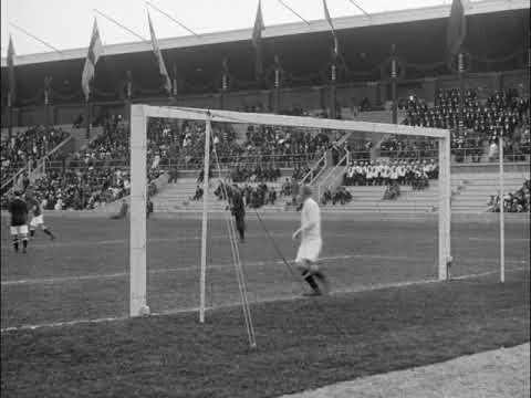 1912 Olympics - Football final (Great Britain - Denmark 4:2)