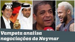 """""""NÃO É FACIL assim, gente!"""" Vampeta analisa negociação Neymar-Barcelona!"""
