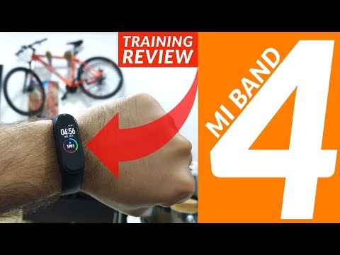 Xiaomi Mi Band 4 In-depth Review - Full Training Mode Tested | Walking, Biking, Gym, Waterproof Test