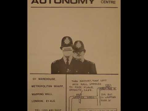 Crass - Wapping Autonomy Centre - 19th December 1981