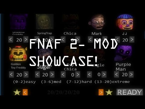 Five Nights at Freddy's 2- Mod Showcase