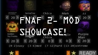 - Five Nights at Freddy s 2 Mod Showcase