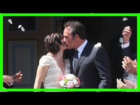 Oscar-winner Jean Dujardin marries Nathalie Péchalat