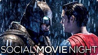 BATMAN V SUPERMAN: DAWN OF JUSTICE - So war die Social Movie Night!