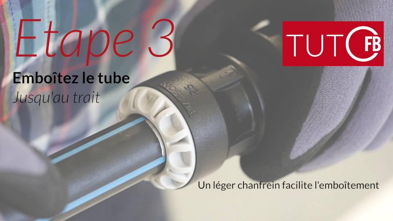 Tuto Raccorder Un Tube Pe à Un Autre Type De Tube