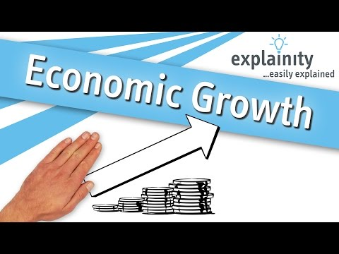 Economic Growth easily explained (explainity® explainer video)