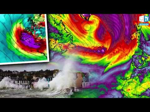 UK Superstorm Path Update! Models show Hurricane Maria & Lee to Merge - Track for UK