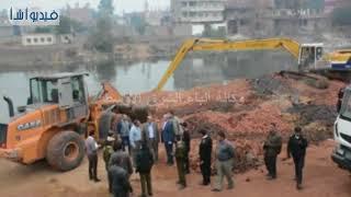 بالفيديو  :  تحرير 4200 متر استولت عليها مصانع الطوب على نهر النيل بالقناطر الخيرية