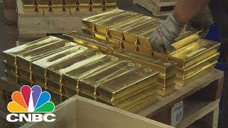 Germany's Central Bank Just Shifted 50,000 Gold Bars Held Overseas Due To Cold War Fears | CNBC