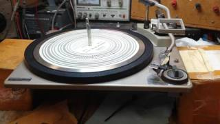 How to fix slow speed problems after servicing a record changer - when all else has failed.