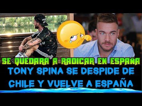 TONY SPINA SE VA DEL TODO DE CHILE Y REGRESA A RADICAR A ESPAÑA