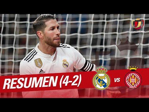 Resumen de Real Madrid vs Girona FC (4-2)