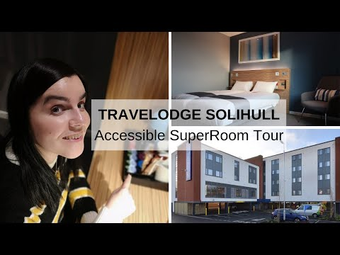 MY STAY AT TRAVELODGE SOLIHULL   Accessible SuperRoom Tour