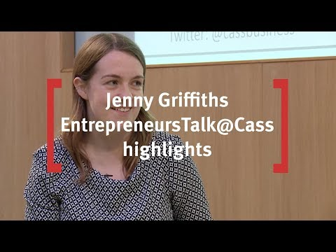 EntrepreneursTalk@Cass with Jenny Griffiths, Founder and CEO of SnapFashion (Full Version)