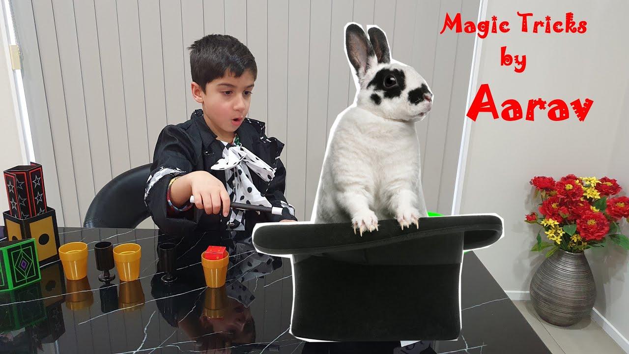 Aarav The Little Magician! Cool Magic Tricks for Kids! Magic Show by Aarav Part 2