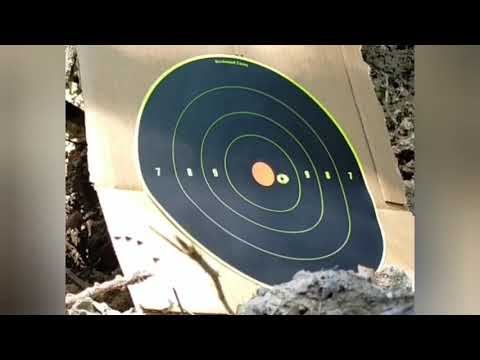 SMK Artemis P15 .177 Brand New. 20 shot Grouping at 55 meters. 60 yards. Very impressive.