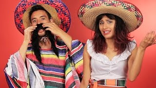 """Mexican People Try """"Mexican"""" Costumes"""